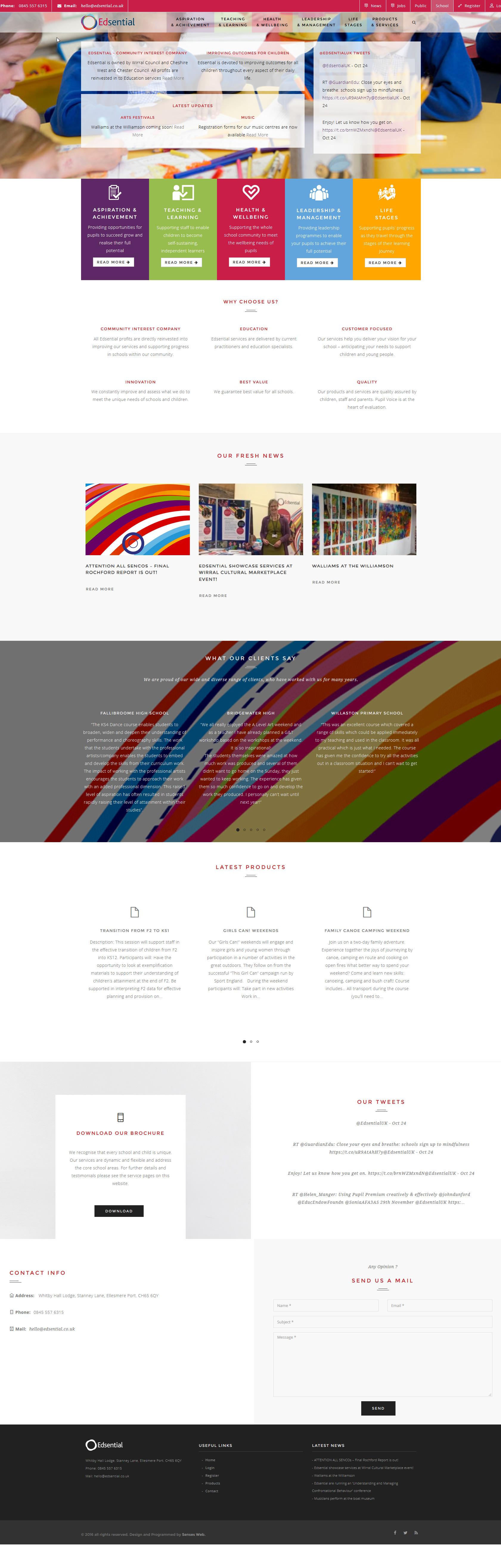 Edsential Homepage